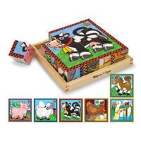 Dřevěné kostky - Farma