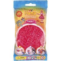 Neonové růžové korálky - 1.000ks MIDI