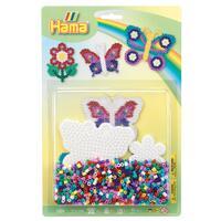 Korálkový set Motýl a květina  - MIDI