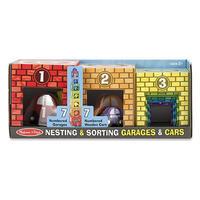 Kostky - garáže s auty