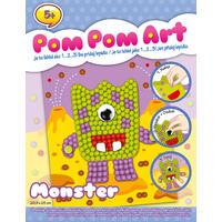 Pom Pom Art - Příšerka