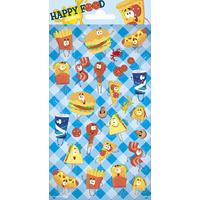 Samolepky-typ C /Happy food/