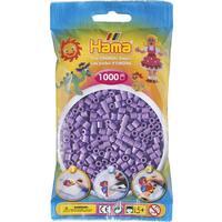 Pastelově fialové korálky - 1.000ks MIDI
