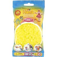 Neonové žluté korálky - 1.000ks MIDI