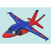 Obrázek pro pískování 23x33 cm /letadlo/