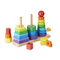 Dřevěná skládačka Geometrické tvary