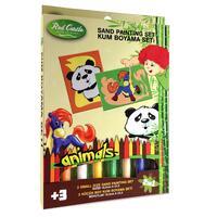 Pískování obrázků 2v1 /panda a koník/