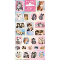 Samolepky-typ C /Softies & Cuties koťata/