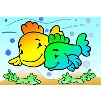 Obrázek pro pískování 23x33 cm /ryby/