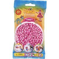 Pastelově růžové korálky - 1.000ks MIDI