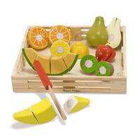 Kuchyňský set ze dřeva - Krájení ovoce