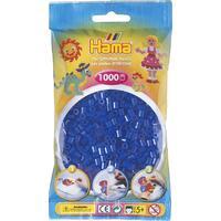 Neonové modré korálky - 1000 ks MIDI