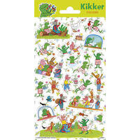 Samolepky-typ C / Kikker/