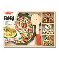 Dřevěná pizza