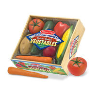 Přepravka se zeleninou