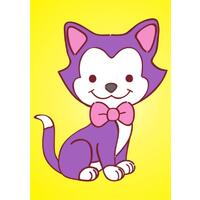 Obrázek pro pískování 23x33 cm /kočička/