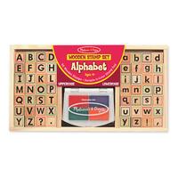 Dřevěná razítka - abeceda