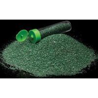 Barevný písek /70g/ - tmavě zelená