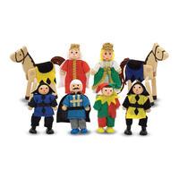 Dřevěné ohebné figurky Knížecí rodina
