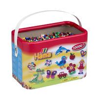 HAMA zažehlovací korálky v boxu MIDI - Mix  22 barev - 10.000ks
