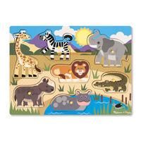 Dřevěné puzzle Safari