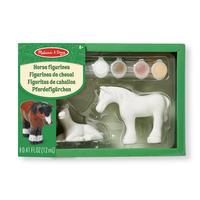 Figurky k vymalování Koně