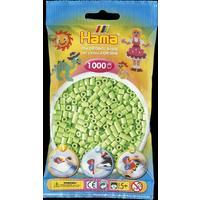 Pastelově zelené korálky - 1.000ks MIDI