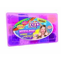 1600+ silikonových gumiček CRAZE LOOPS v MEGA boxu