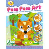 Pom Pom Art - Liška