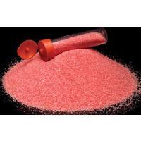 Barevný písek /70g/ - červená