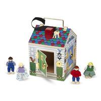 Výuková hračka - domek se zvonky