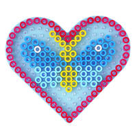 Podložka - srdce -MAXI