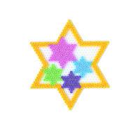 Podložka - velká hvězda