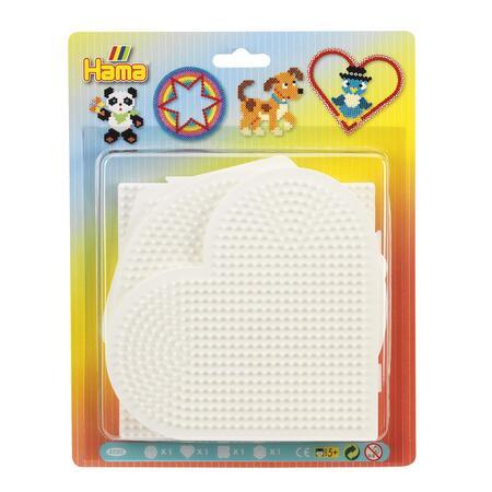 Podložky /kruh,srdce, napojovací čtverec, šestiúhelník/ - MIDI