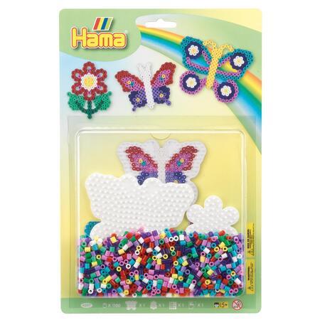 Korálkový set Motýl a květina MIDI - 1