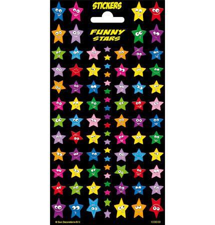 Samolepky-typ C /hvězdy/