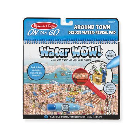 Kouzlení vodou DELUXE kolem města