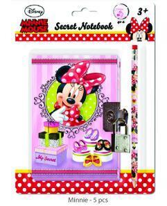 Zápisník se zámkem a tužkou Disney - 1