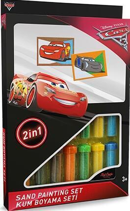Pískování obrázků 2v1 - Cars