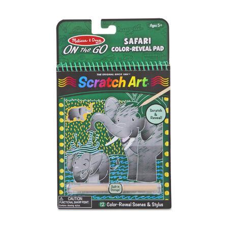 Škrabací obrázky Safari