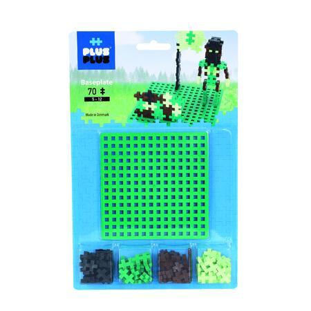 Plus-Plus Zákl. deska + 70 kostiček Camouflage - 1