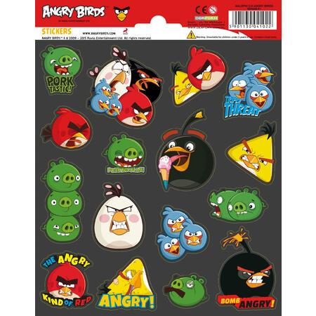 Samolepky-typ L /Angry Birds/