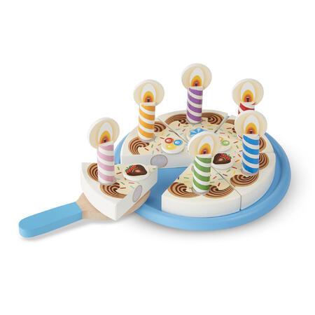 Dřevěný narozeninový dort - 1