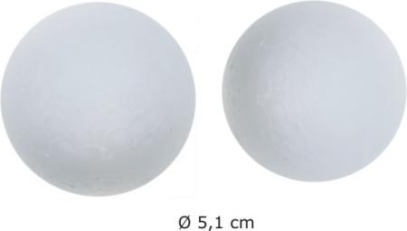 Polystyrenové koule 5,5 cm /4 ks/