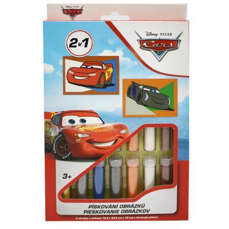 Pískování obrázků 2v1 Cars - 1