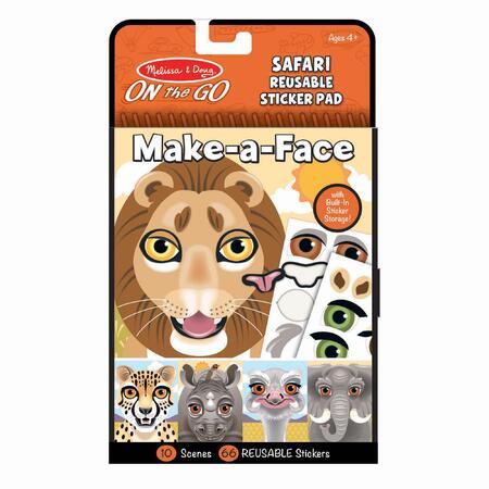 Vytvoř obličej Safari - 1