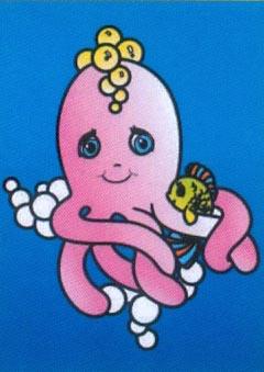 Obrázek pro pískování 23x33 cm /chobotnice/ - 1