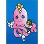 Obrázek pro pískování 23x33 cm /chobotnice/ - 1/2