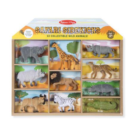 Sběratelská Safari zvířata /10 figurek/ - 1