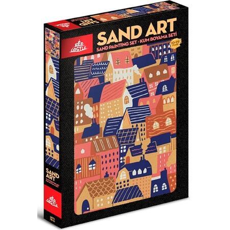SAND ART /1x A4 obrázek/ - 1